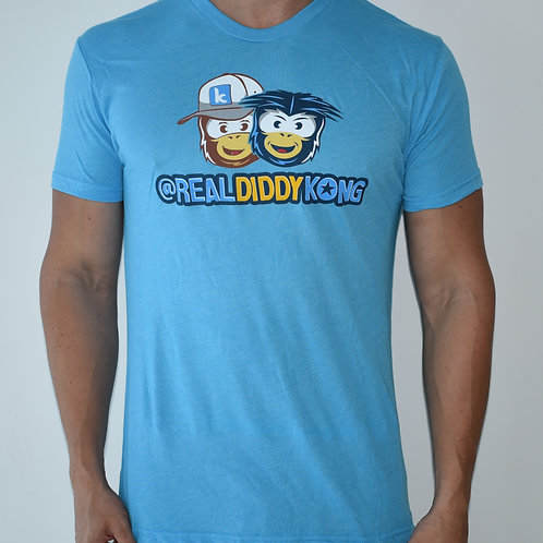 Limited Blue Mens Official Diddy Kong T-Shirt