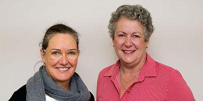 Jenny Clapin and Catherine Lanigan - Practice Nurses