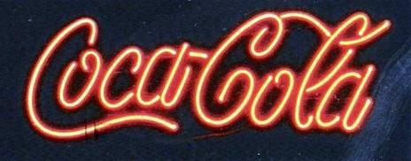 Neon Coca-Cola