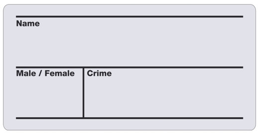 Arrested Skylt