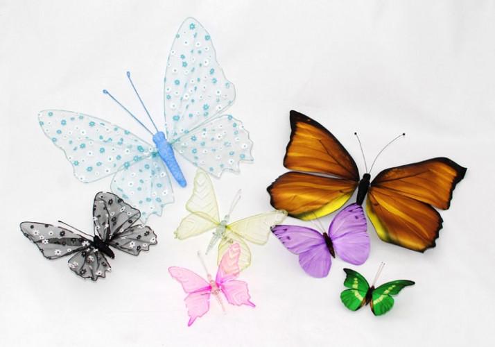 Fjärilar Tyg