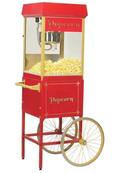 Popcornvagn Röd