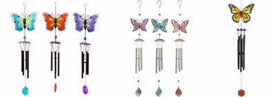 Fjärilar Glas