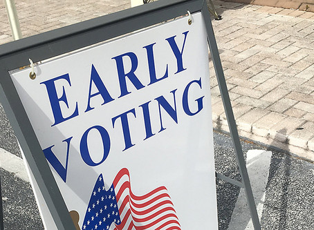 Early Voting: There's No Time Like the Present