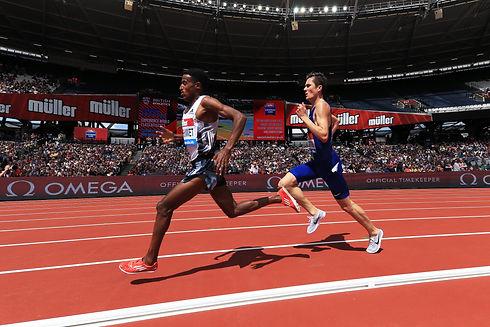 Hagos Gebrhiwet of Ethiopia leads Jakob
