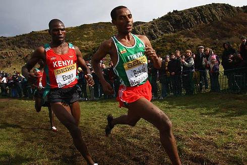 Kenenisa Bekele WXC Edinburgh