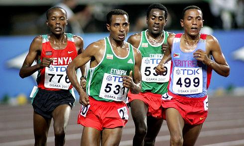 Zersenay Tadese tient la corde