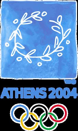 Logo des jeux Olympiques d'Athènes 2004