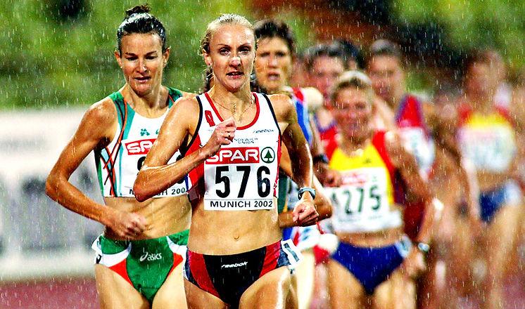 Paula Radcliffe & Sonia O'sullivan