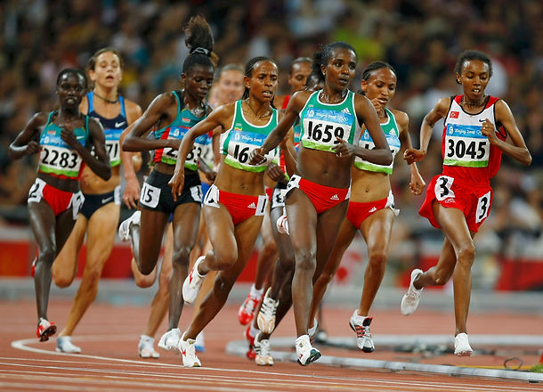 Doublé 5000/10000m pour Tirunesh Dibaba (Ethiopie) ...