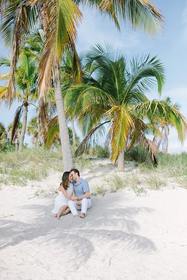 Miami beach engagement