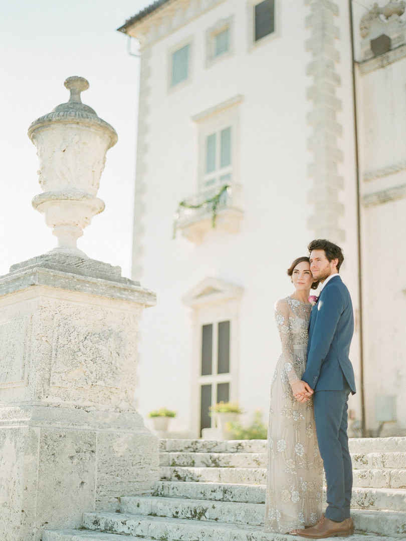 Vizcaya Museum and Garden Wedding
