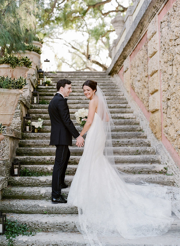 VIZCAYA MUSEUM AND GARDEN CLASSIC WEDDING