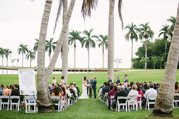 Tropical wedding inspirations miami