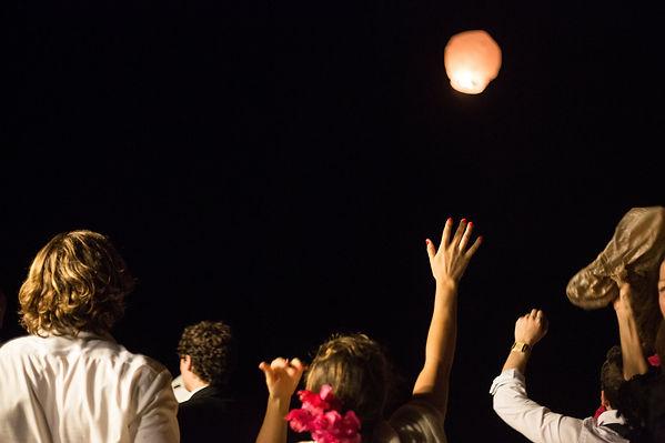 Japanese lantern to end the night
