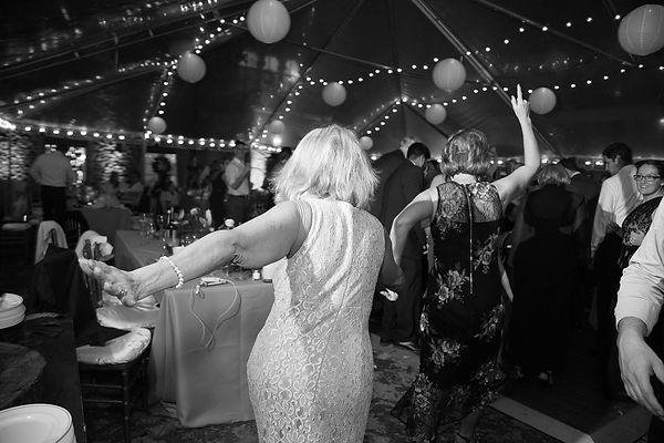 Fun wedding reception at the deering estate