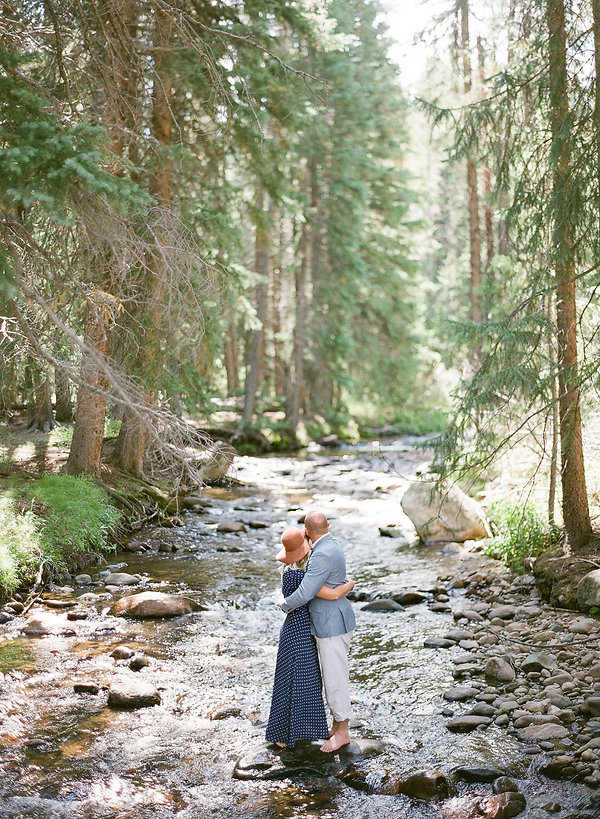 Nature Engagement session in Colorado