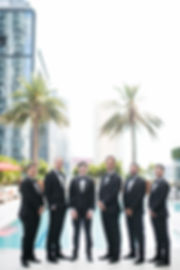 Groomsmen at the Epic Hotel