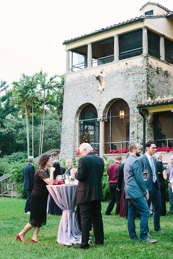 Deering estate reception