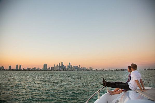 Wedding proposal on a cruise miami
