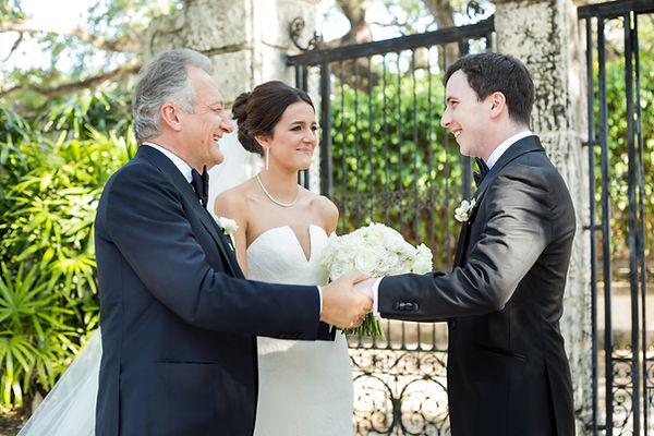 Alisa Ferris Vizcaya Wedding