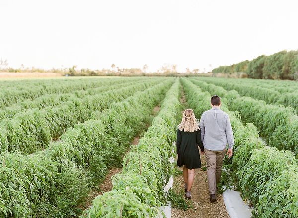 Florida Homestead park engagement photographer