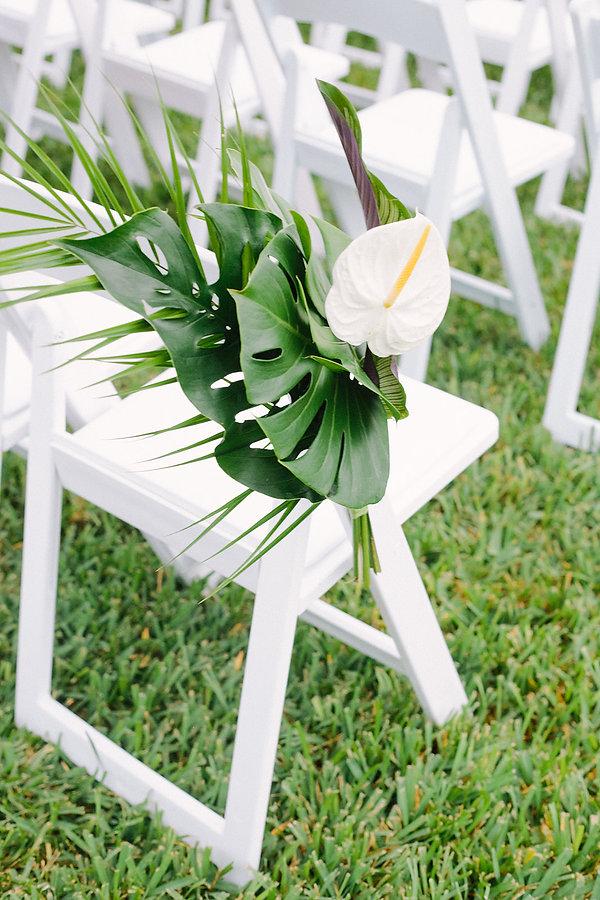 Simple florals wedding florist