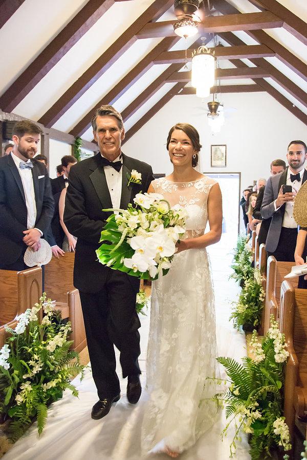 Wedding ceremony in cat cay bahamas