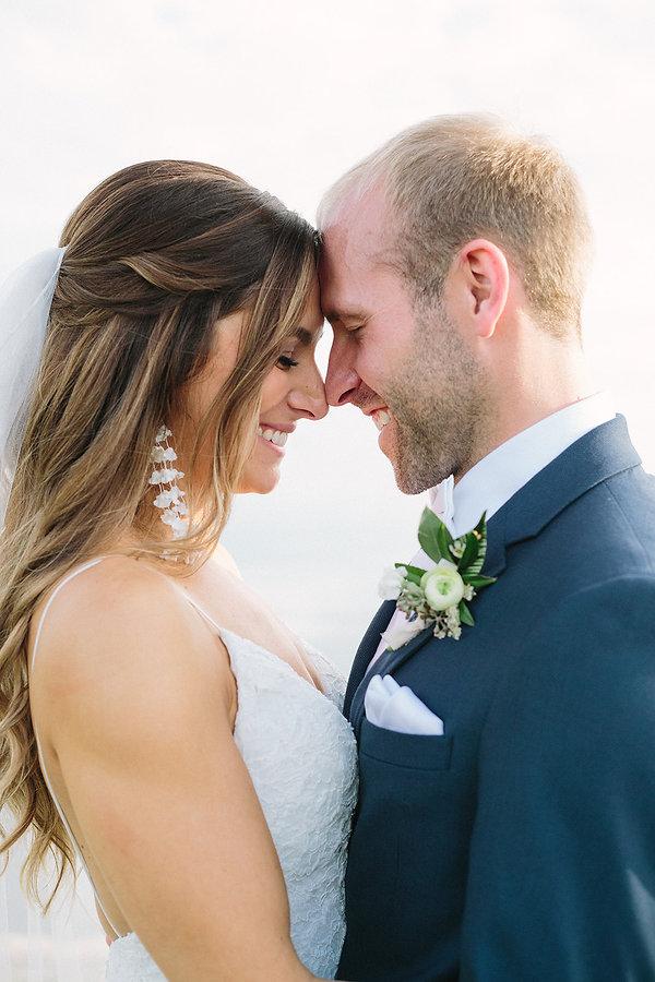 Beautiful wedding portrait miami