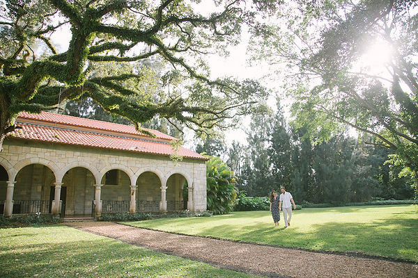Ancient Spanish Monastery Engagement Photography