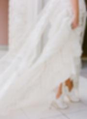 Gorgeous wedding dress captured by miami wedding photographer alisa ferris