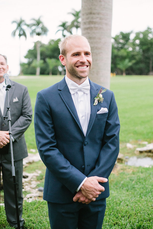 Wedding ceremony at the deering estate