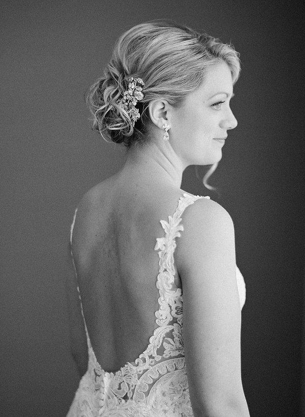bridal portrait naples wedding