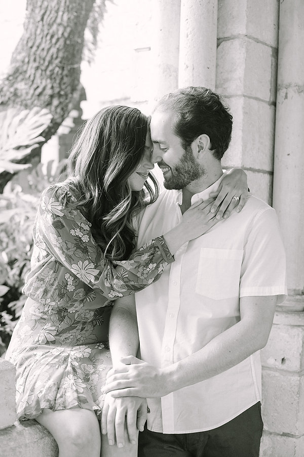 The Ancient Spanish Monastery Engagement