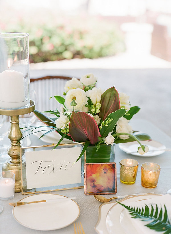 Tablescape ideas for bahamas weddings