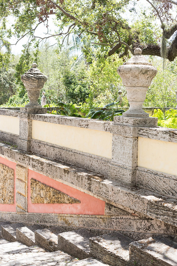 Vizcaya museum and garden wedding ceremony