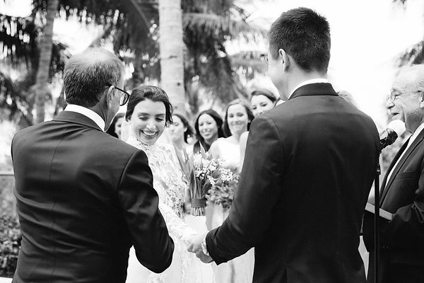 black and white wedding photos at the st regis bal harbor