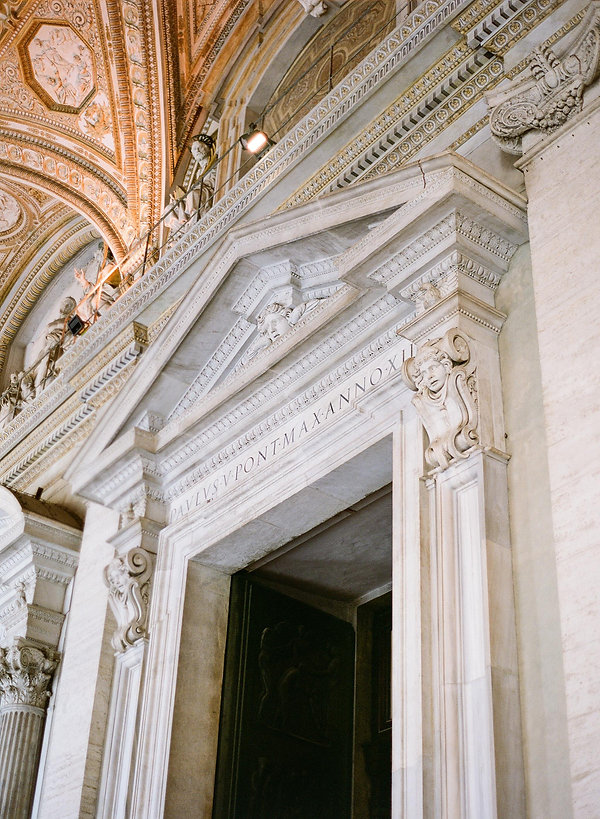vatican city architectural photography