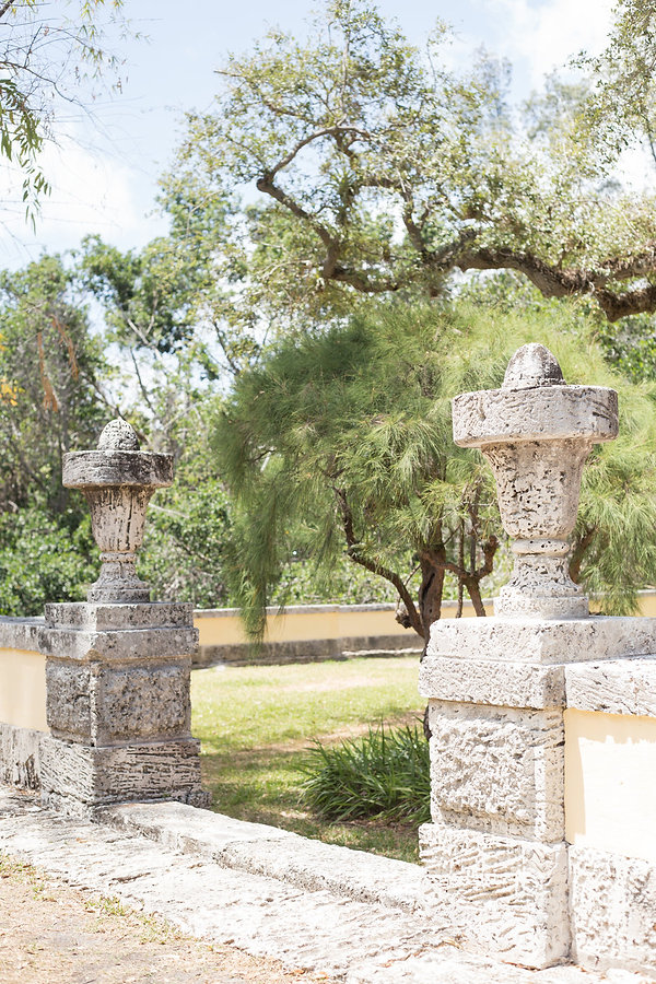 Weddings at Vizcaya museum and gardens