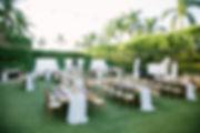 outdoor wedding naples