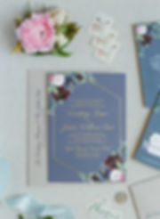 wedding invitation the messy painter