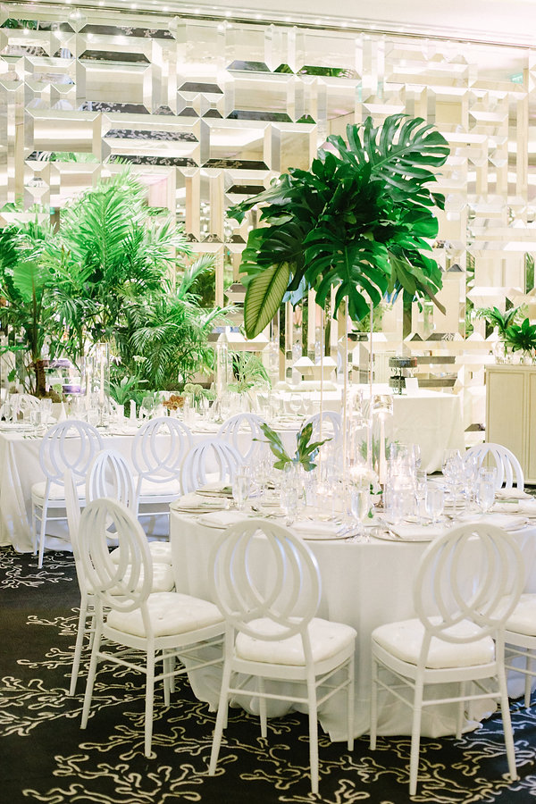 beautiful wedding reception details