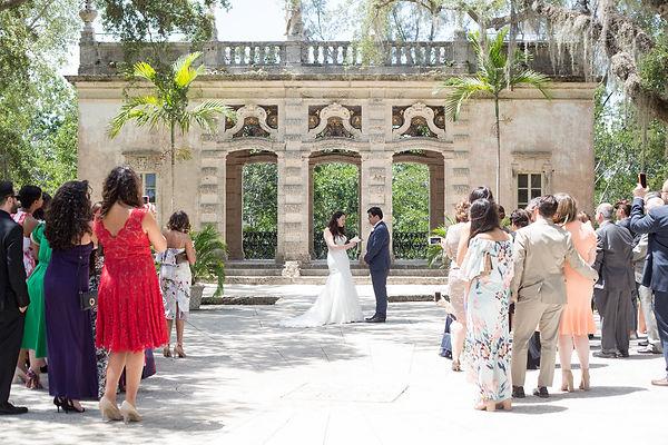 small wedding photographer in Florida