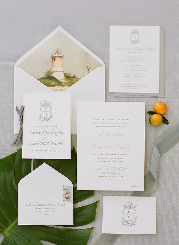 Invitations by Masi Papergoods