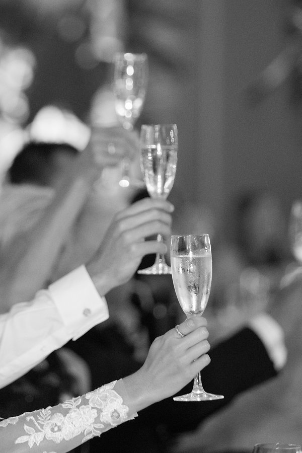 wedding toast at the st regis bal harbor miami