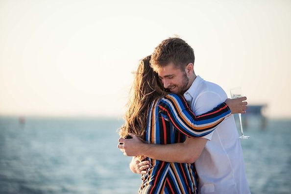 Yacht wedding proposal idea in miami