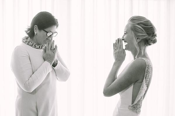 Intimate black and white wedding photo3