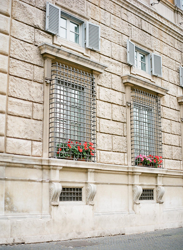 classic facade in vatican city