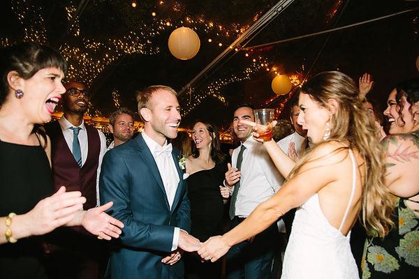 The deering esate wedding party