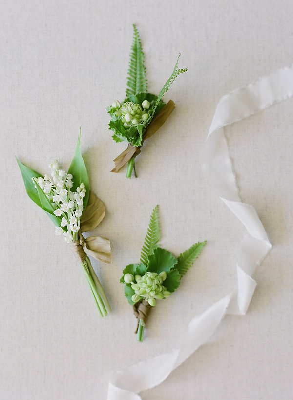 wedding flower pins